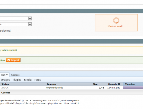 Fatal error: Call to a member function getBackendModel() … during Customer Import